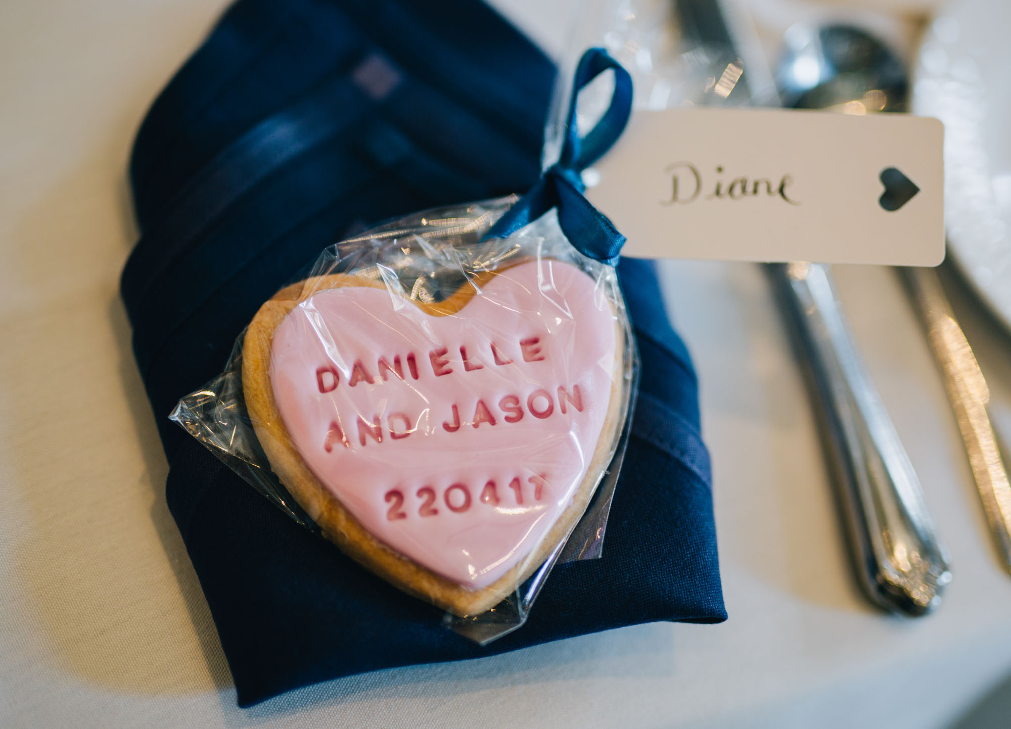 biscuits - wedding favours