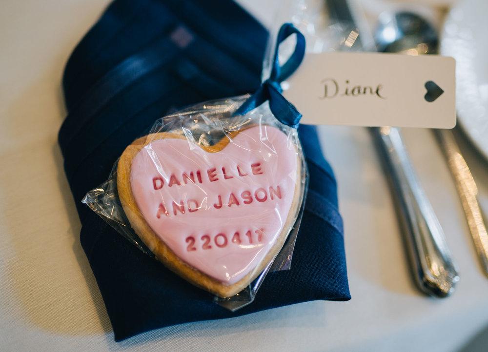 Wedding biscuits, Vintage wedding in Lancaster.