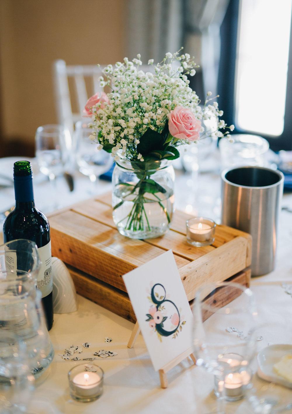 Table decorations at Ashton Memorial, Wedding decorations, Creative wedding photos.