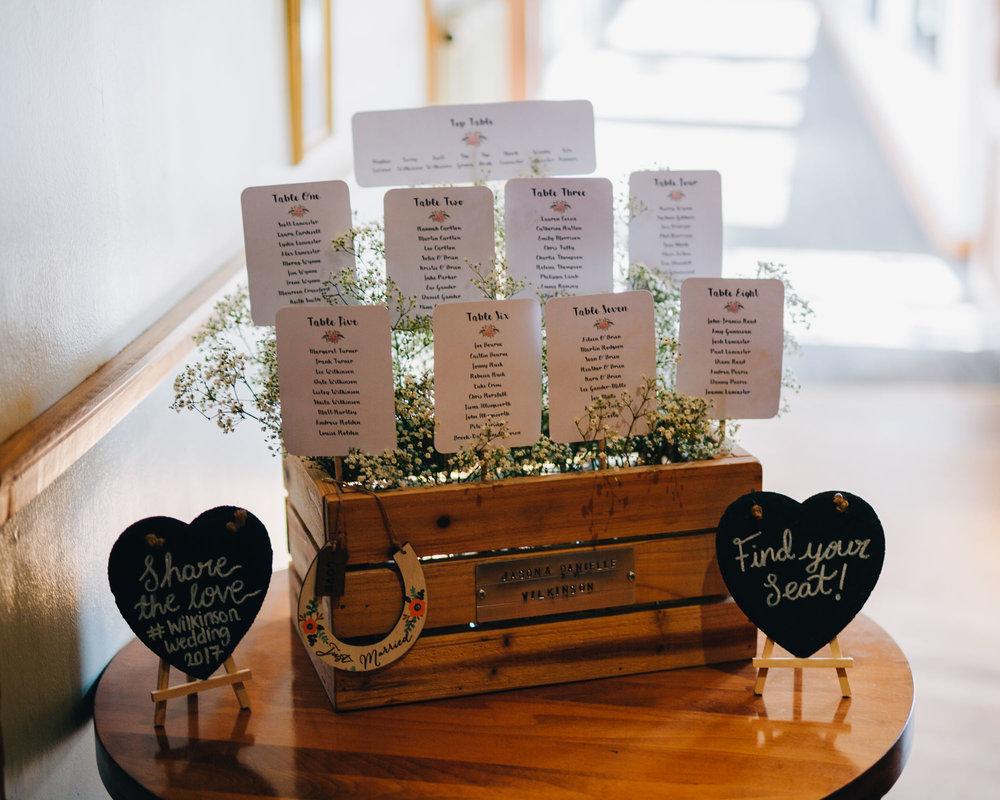 Table seating, Creative wedding photographer from Lancashire, Ashton Memorial wedding venue.