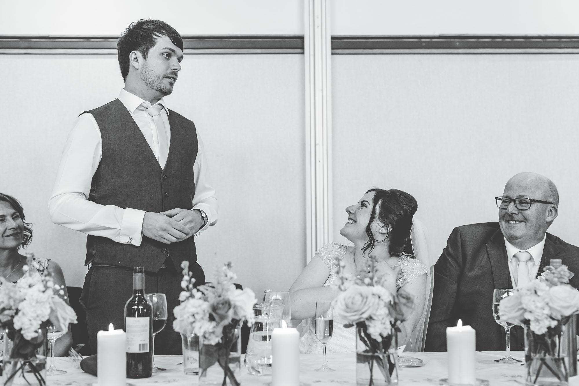 speeches at Lancaster wedding