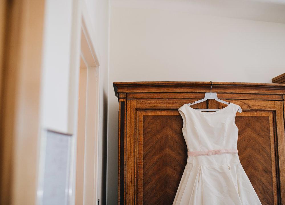 Brides dress, Wedding dress, Lancashire photographer, Documentary photography at the Lake District.