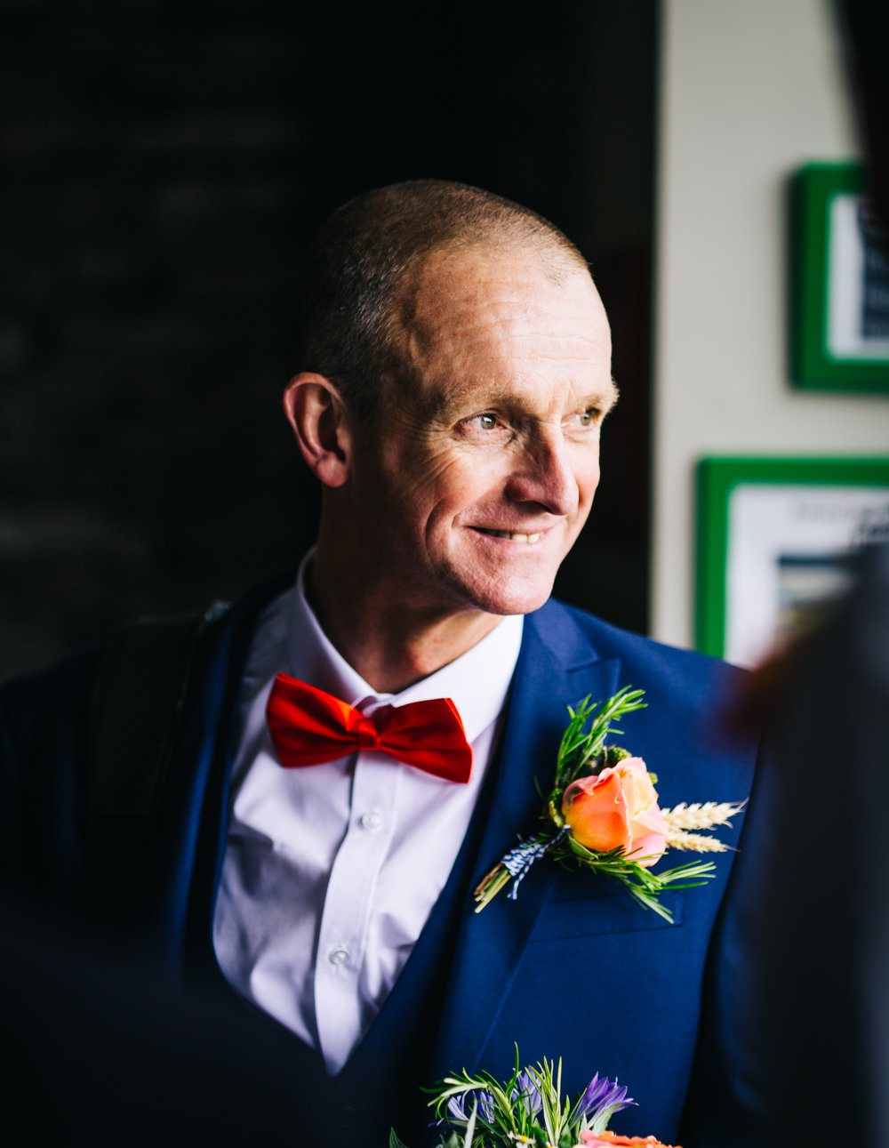 One of the best men, Rustic wedding.