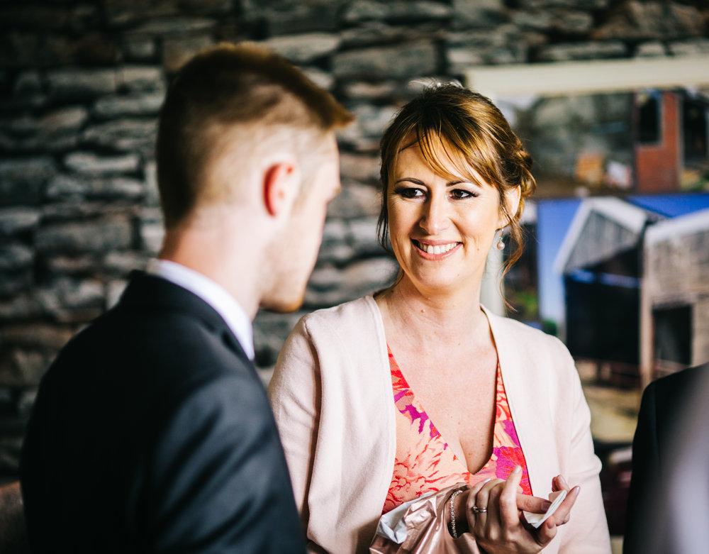 Wedding guest, Documentary wedding photographer.