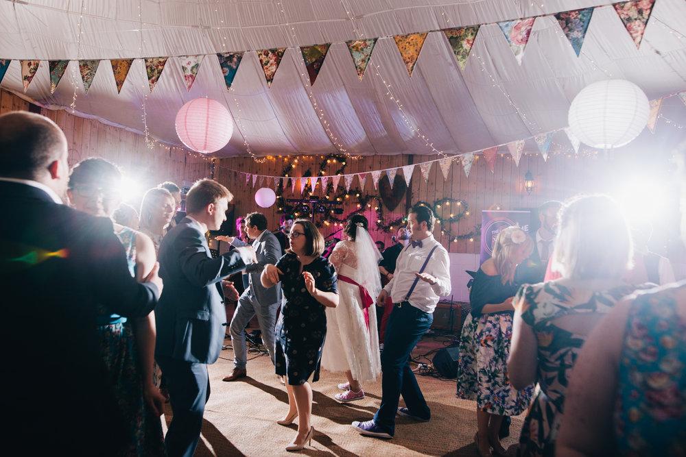 Dancefloor, creative wedding photographer.