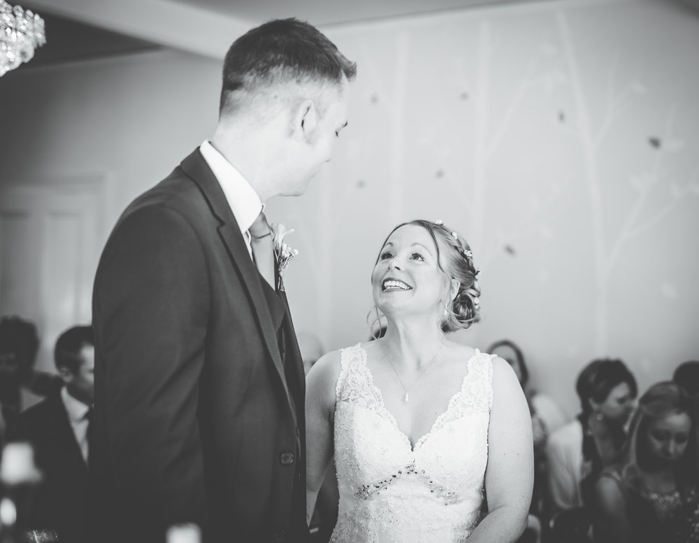 emotional black and white wedding pictures