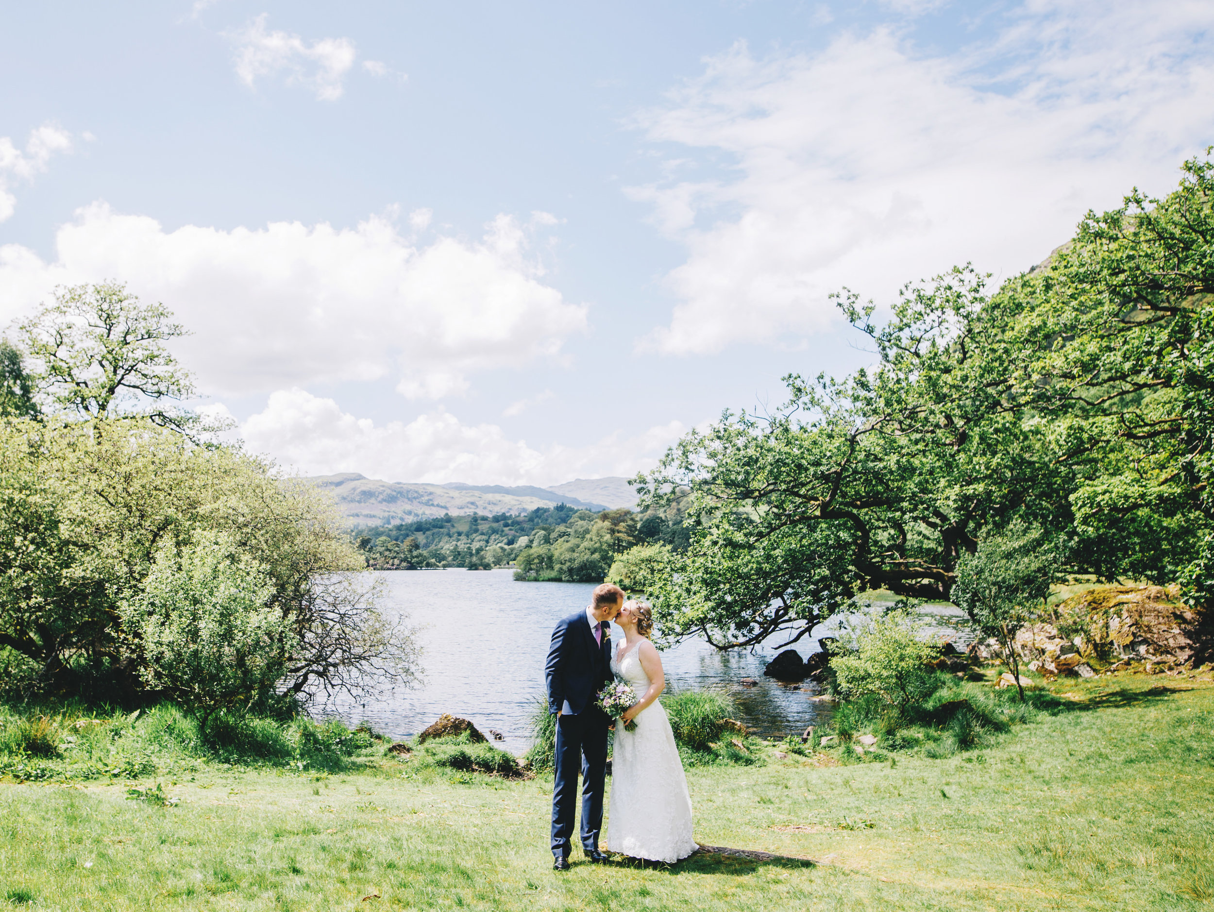 By the lake at Cote How Rydal