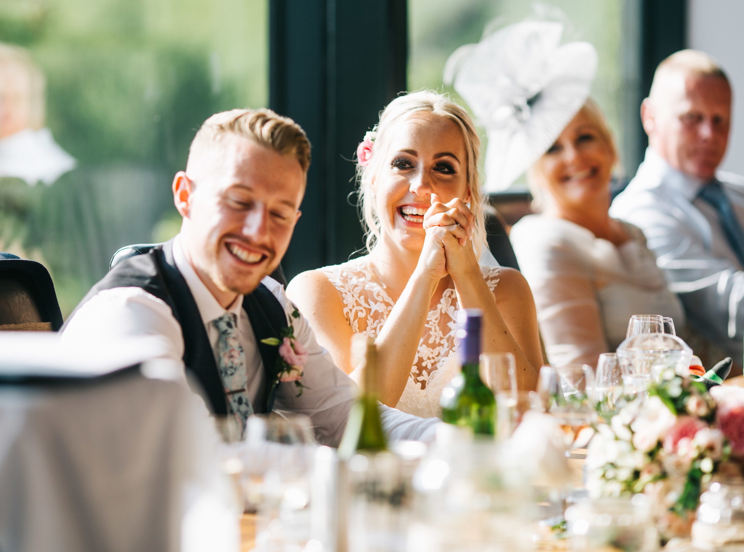 happy bride - wedding speeches