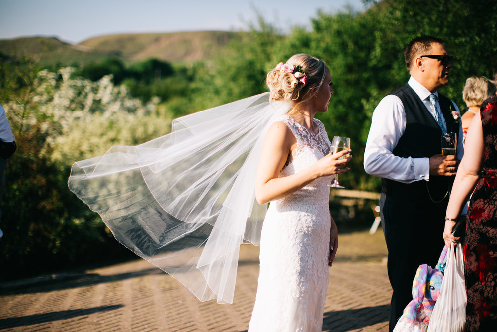 candid and natural photography of the wedding day at Fishermans retreat in lancashire
