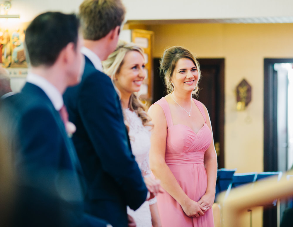 Smiles from bridesmaids, Creative wedding photography.