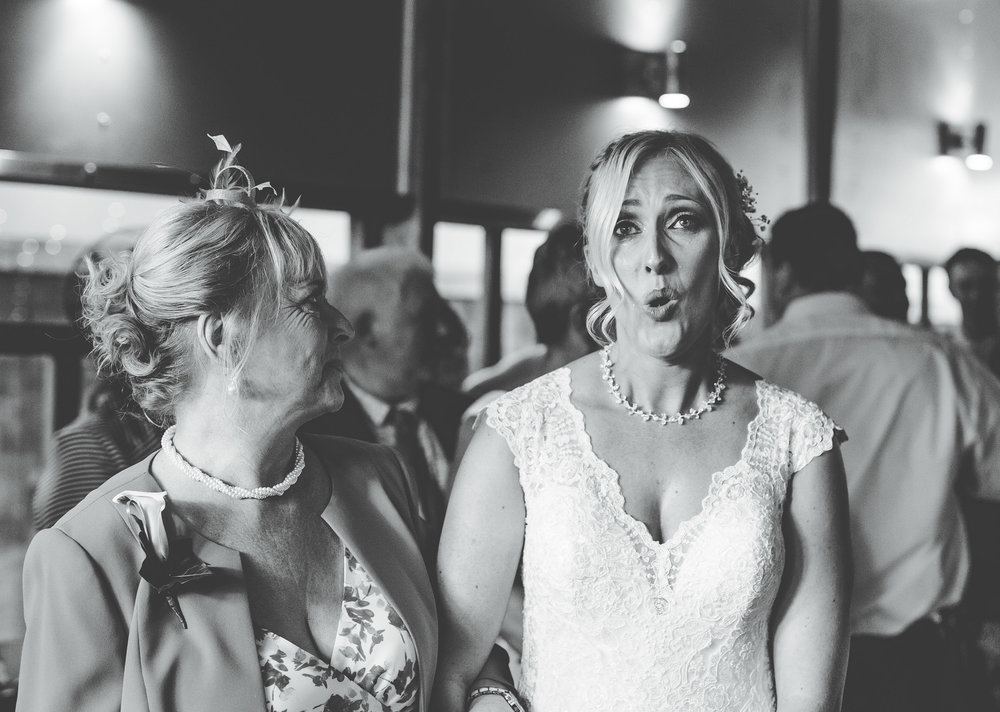 a very emotional bride to be