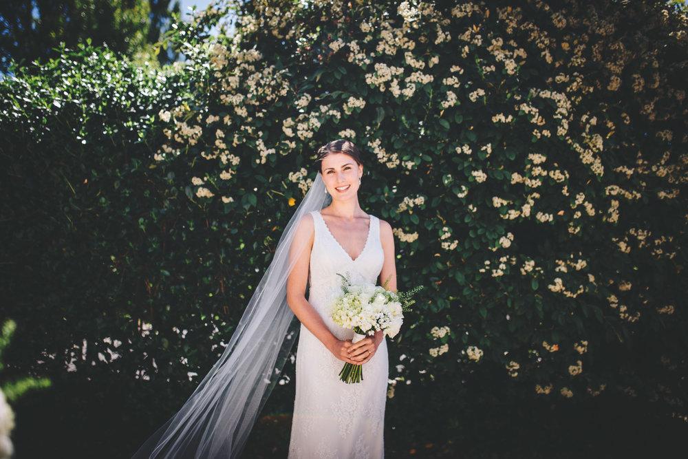 portrait of the bride - wedding photography lancashire