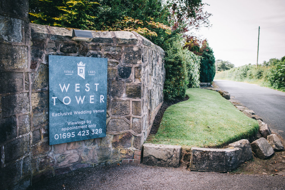 the west tower wedding venue