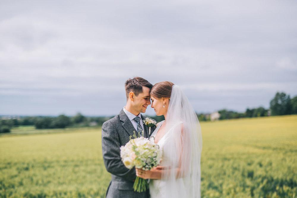 intimate and relaxed wedding portraits - rachel joyce photography