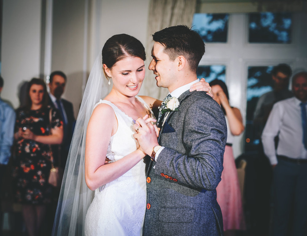 first dance at West Tower Aughton