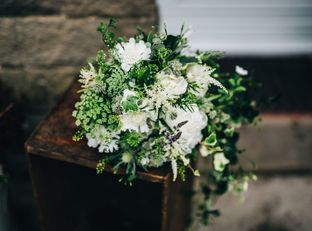 a natural and botanical bouquet