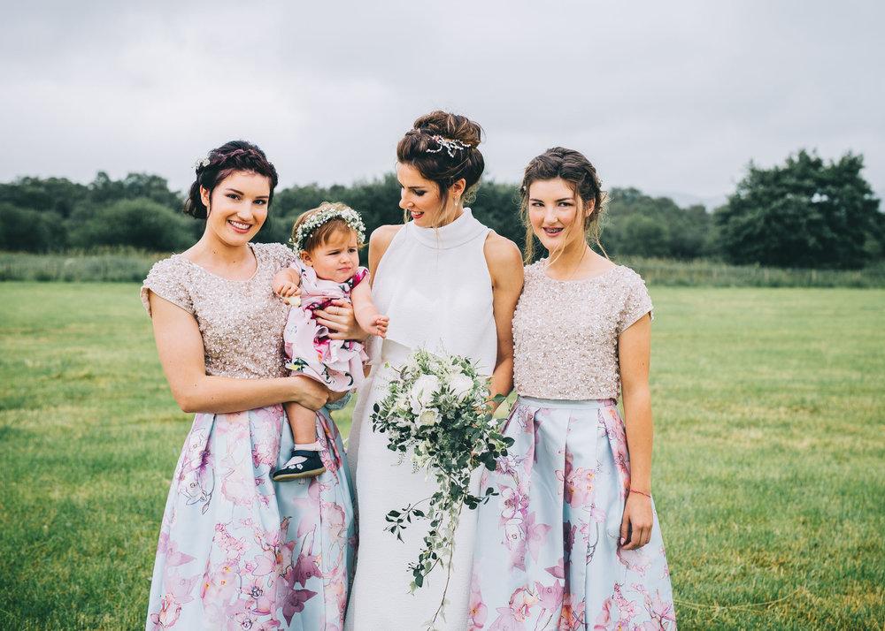 non bridesmaid stresses at this stylish boho tipi wedding
