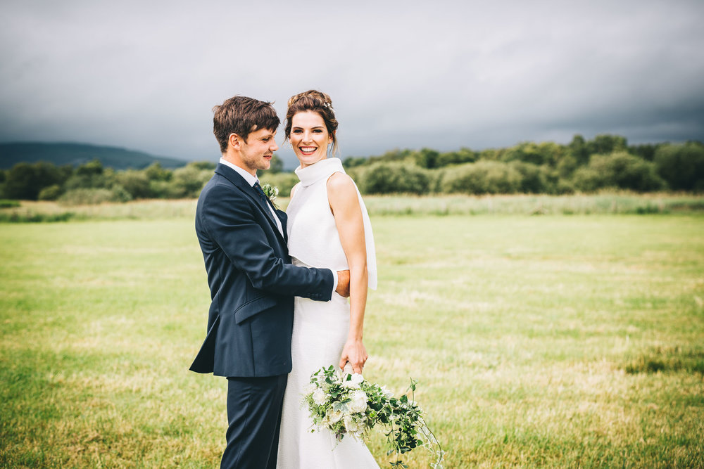 relaxed and informal wedding pictures - Rachel Joyce photography