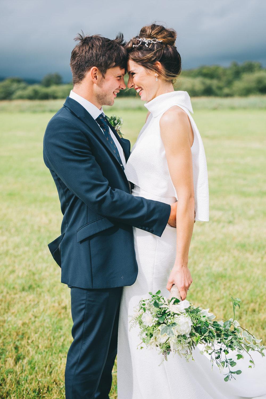 sweet unposed wedding images - wedding photographer north west