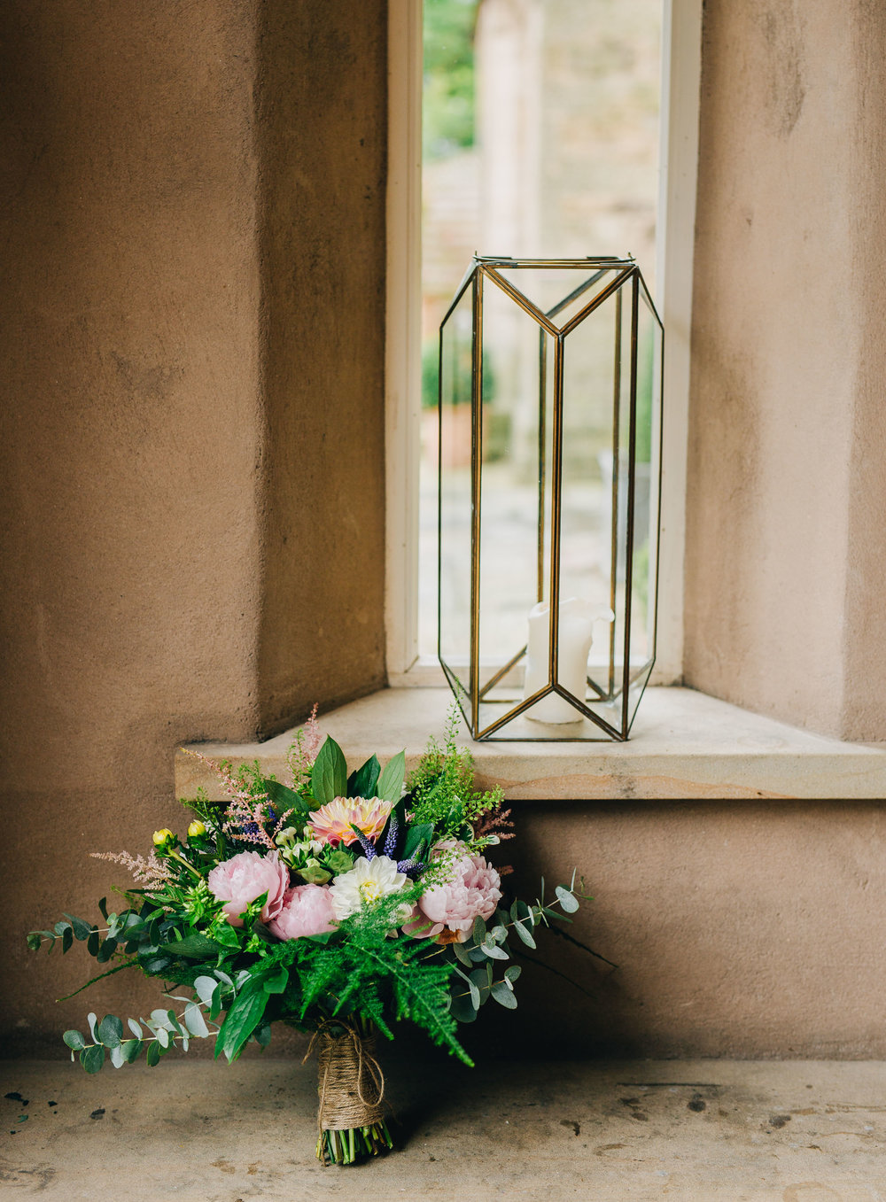 wedding flowers at Mitton Hall wedding - wedding photography in Lancashire