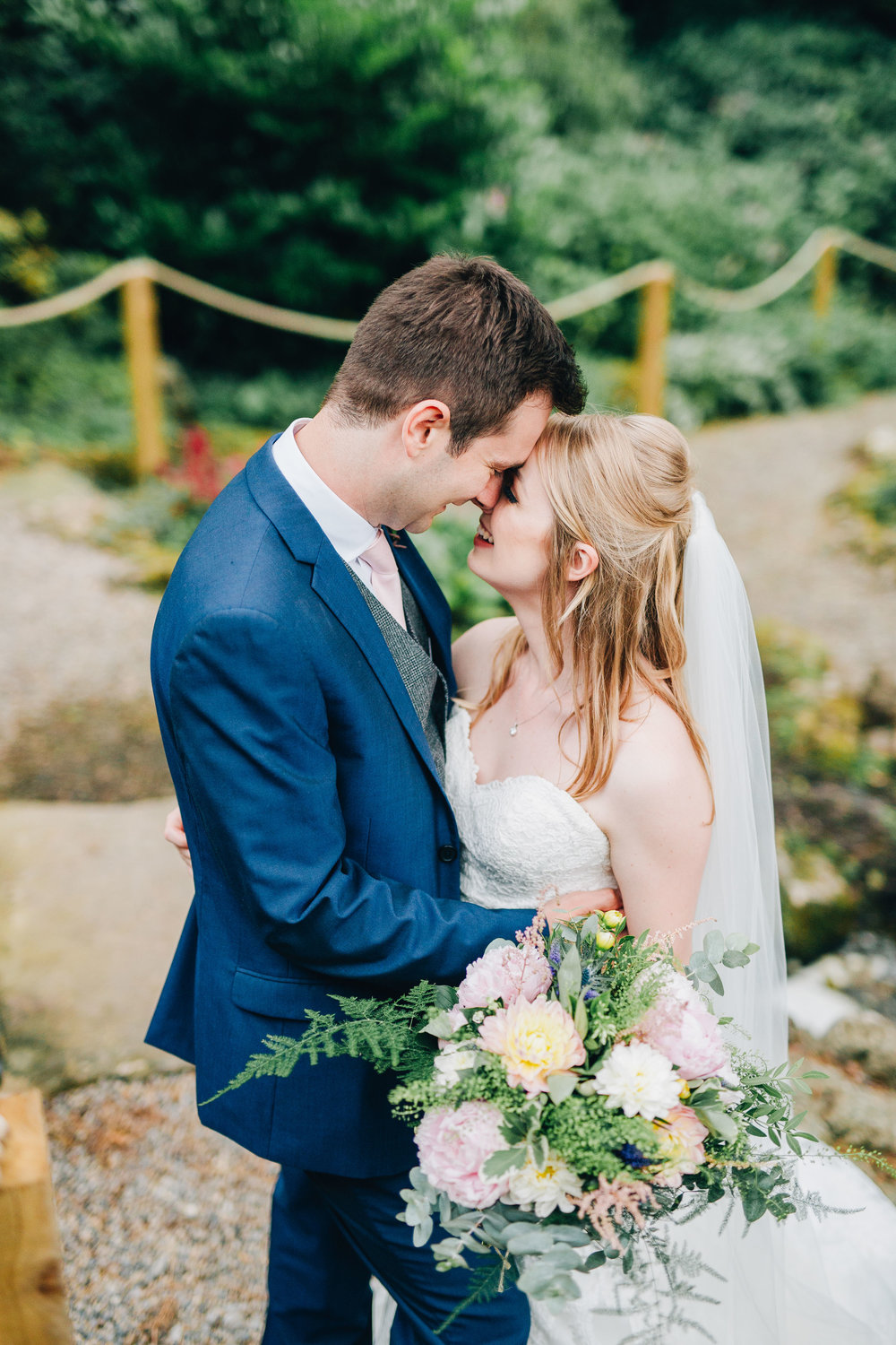 lovely relaxed portraits at Mitton Hall wedding