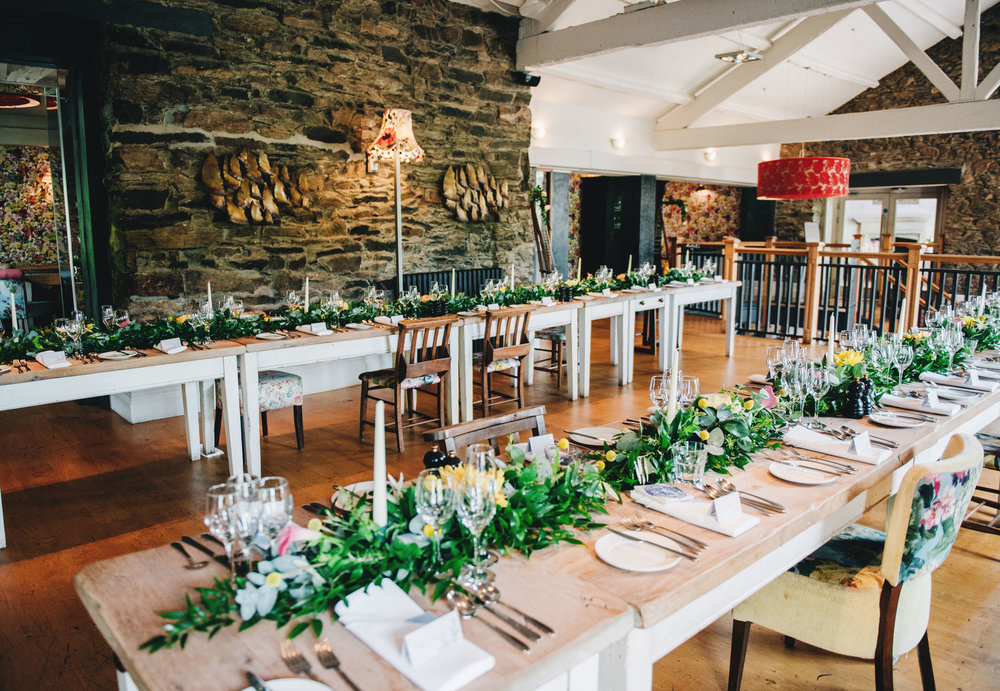 chic and stylish wedding photography in the Lakes - room details