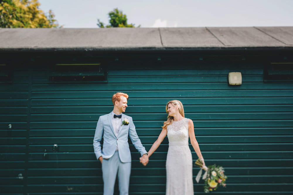modern and fun wedding pictures in the lake district