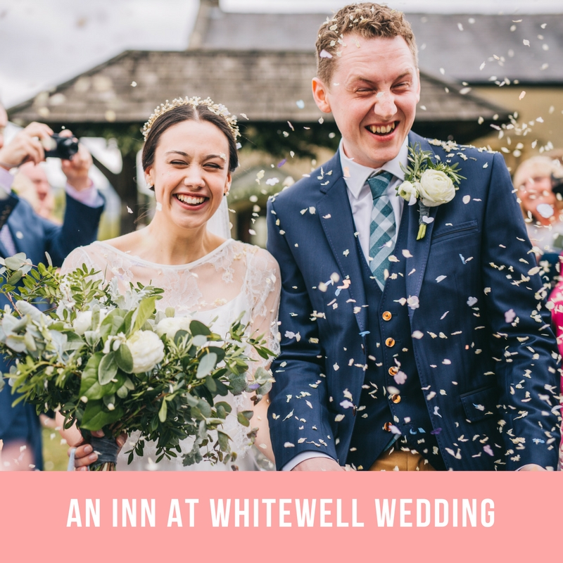Inn at whitewell wedding pictures