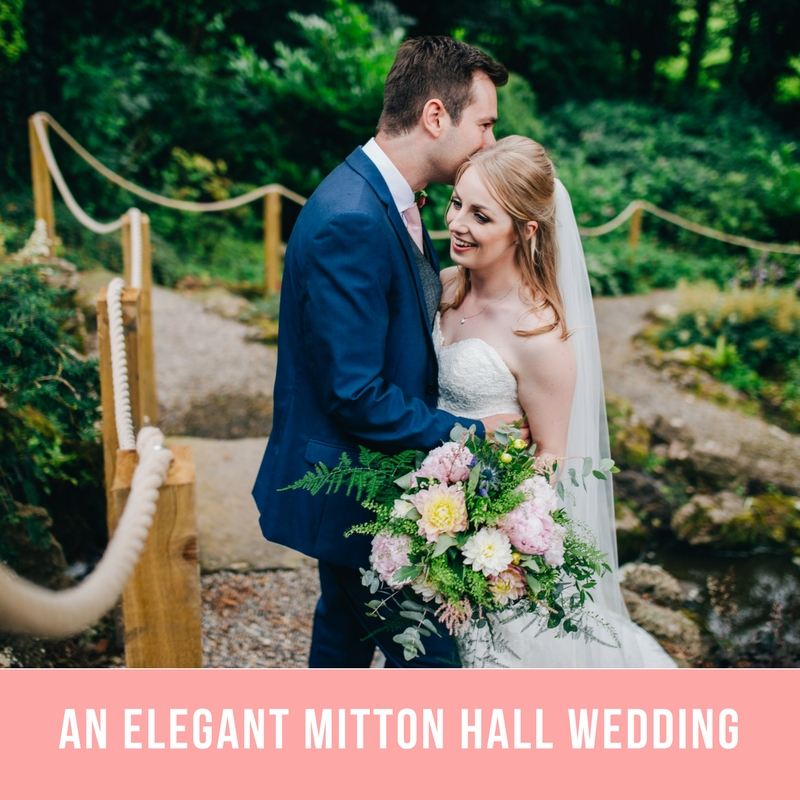 Mitton hall wedding images