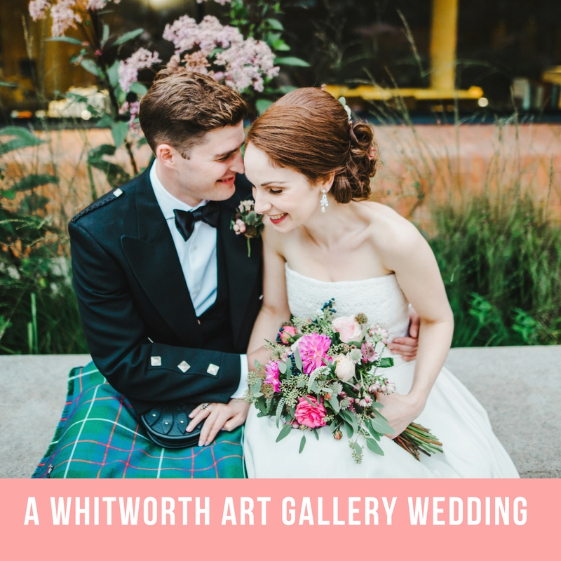 whit worth art gallery wedding