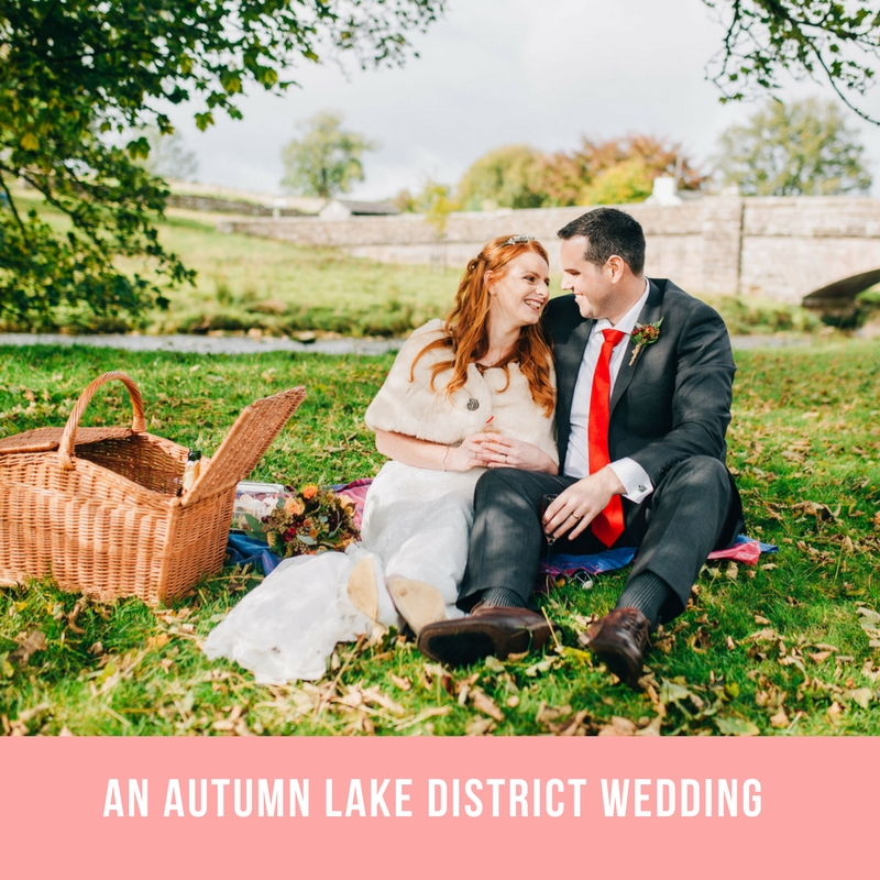Autumn wedding in the lakes