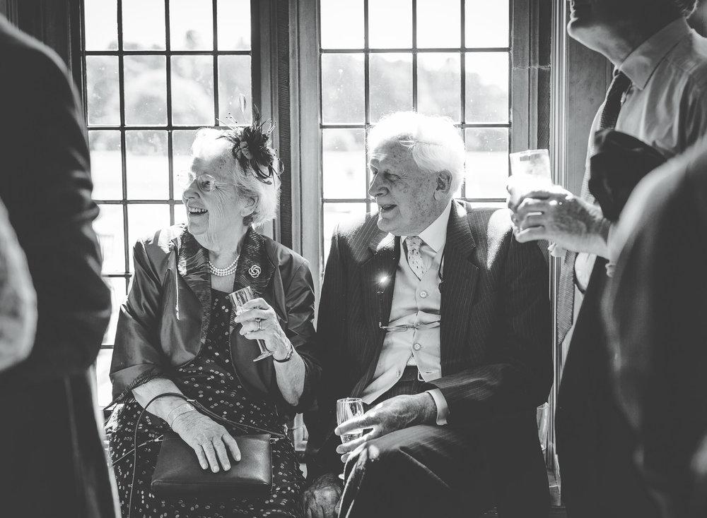 grandparents at thornton manor wedding
