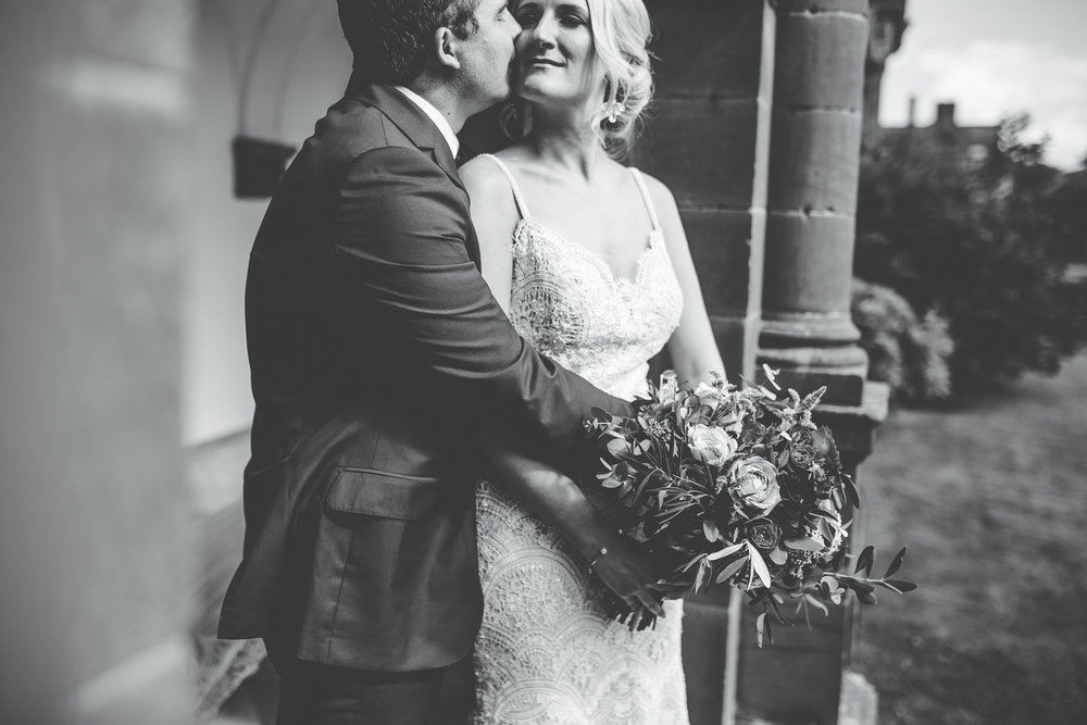 intimate and relaxed wedding portraits - cheshire wedding photographer