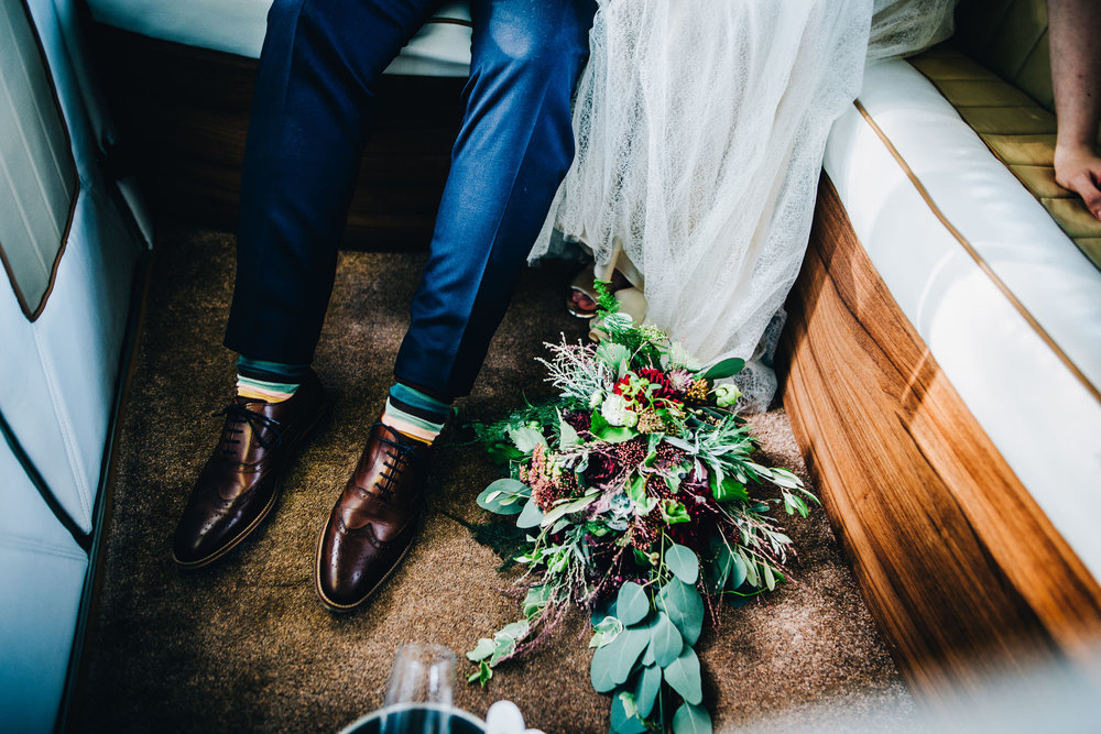 shoes and flowers - artistic wedding photography liverpool