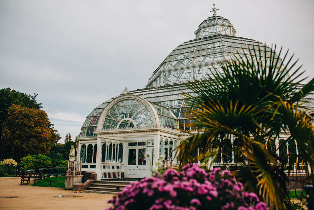 exterior shot of Sefton Palm House liverpool