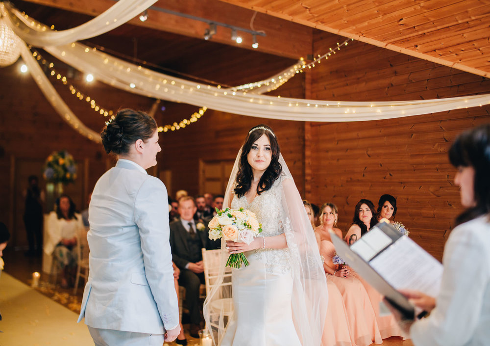 wedding ceremony pictures - Styal Lodge cheshire