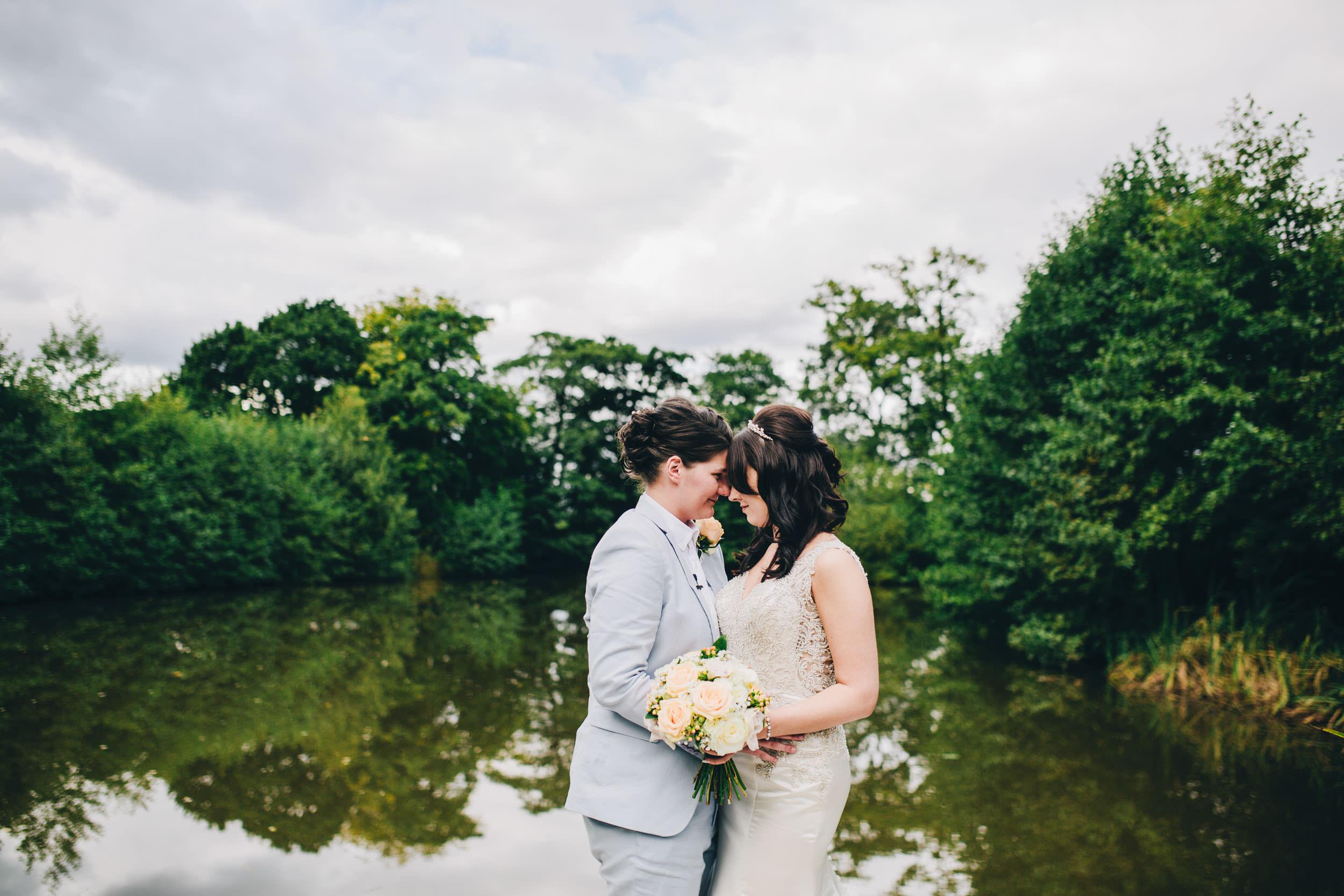 At the Lake at Styal Lodge - cheshire wedding