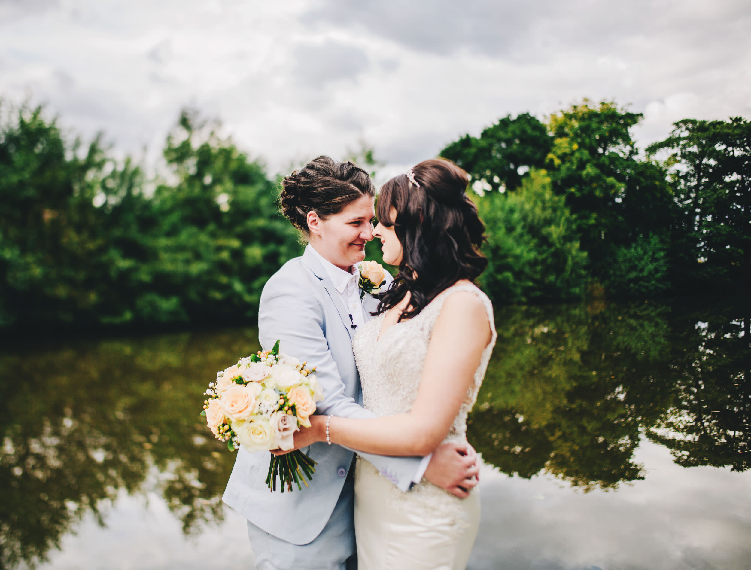 wedding portraits at Styal Lodge