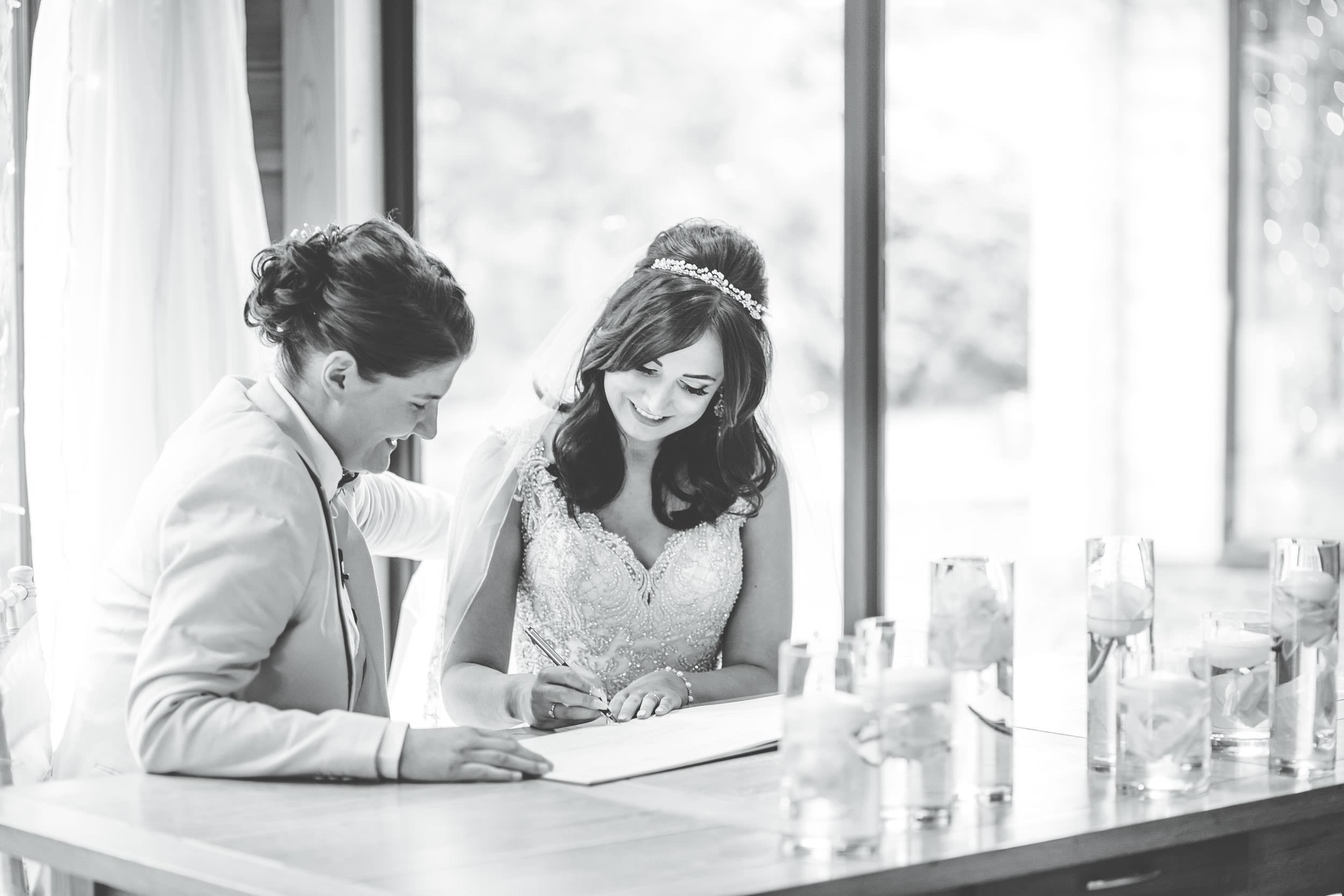 beautiful documentary wedding images - same sex wedding photographer cheshire