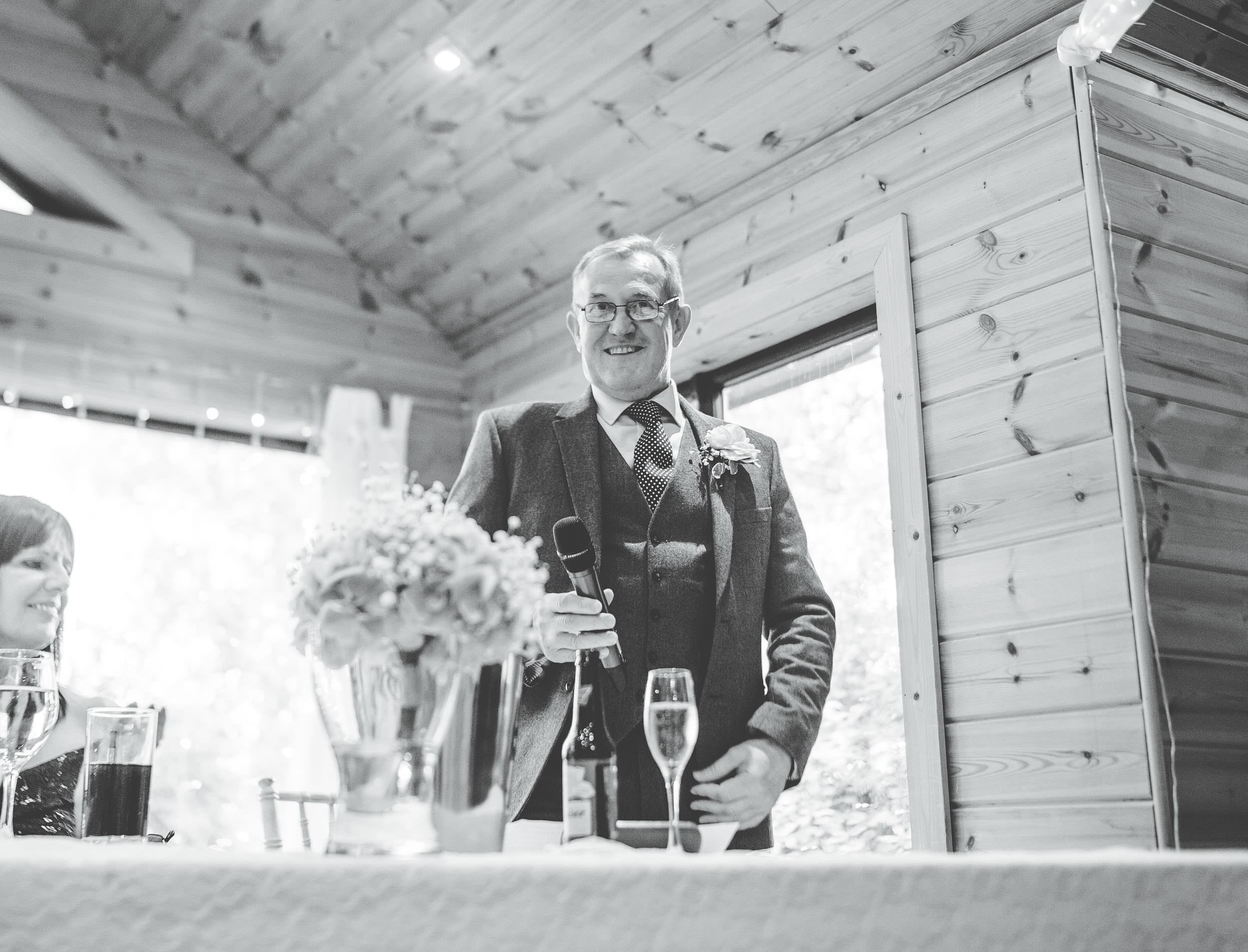 Dad's speech - Styal Lodge wedding