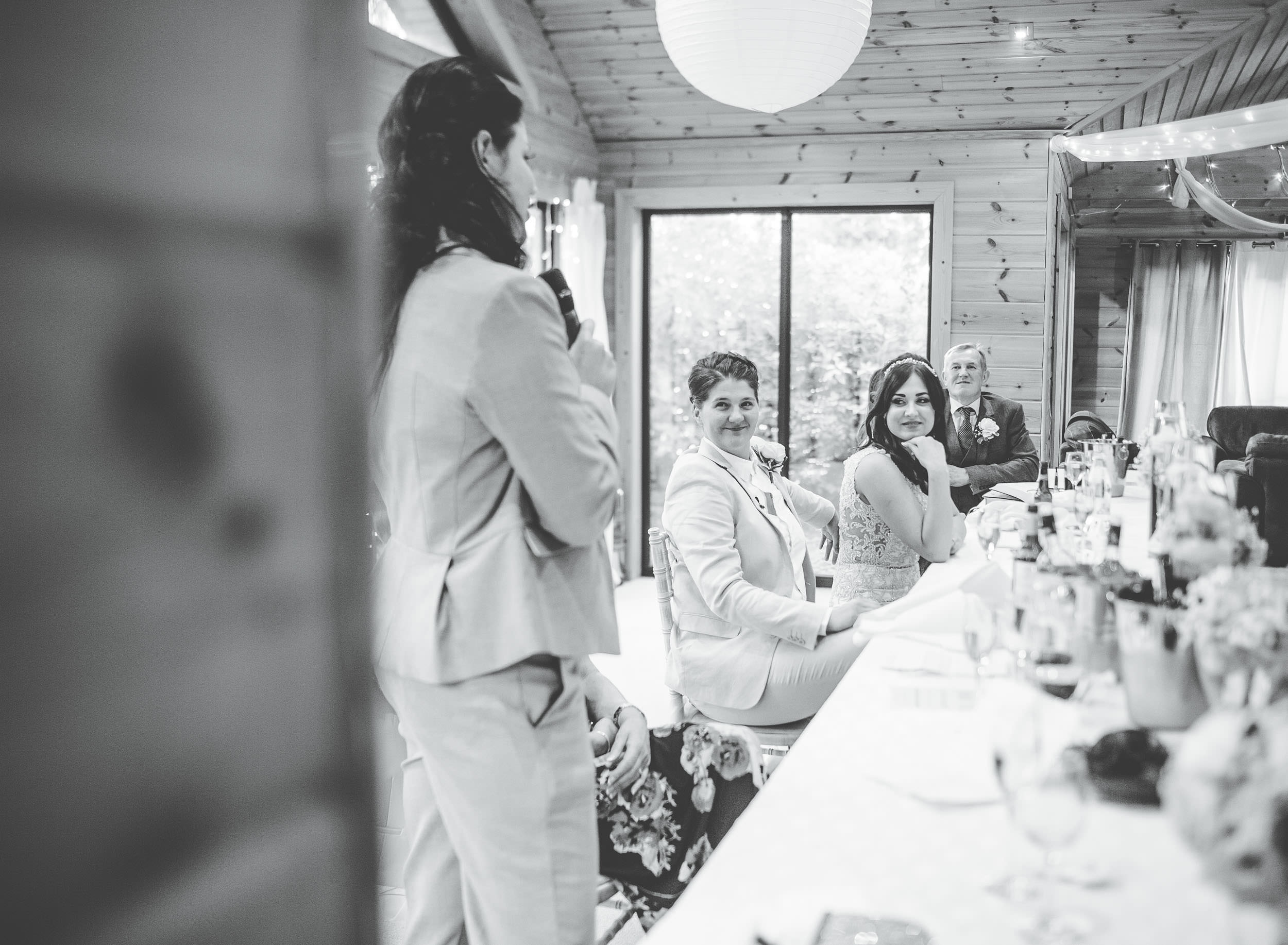 Best woman's speech - same sex wedding cheshire