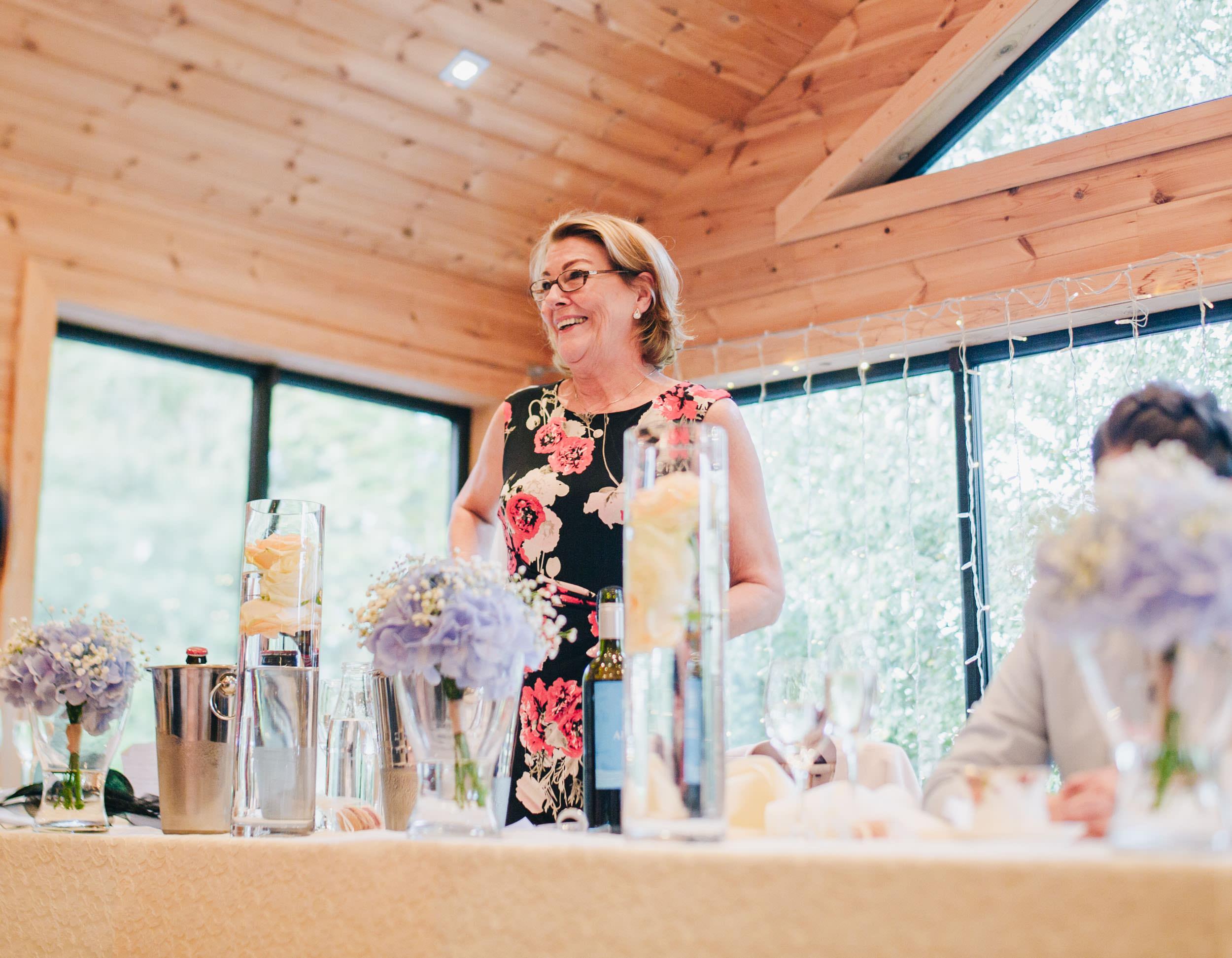Mum's speech - cheshire wedding