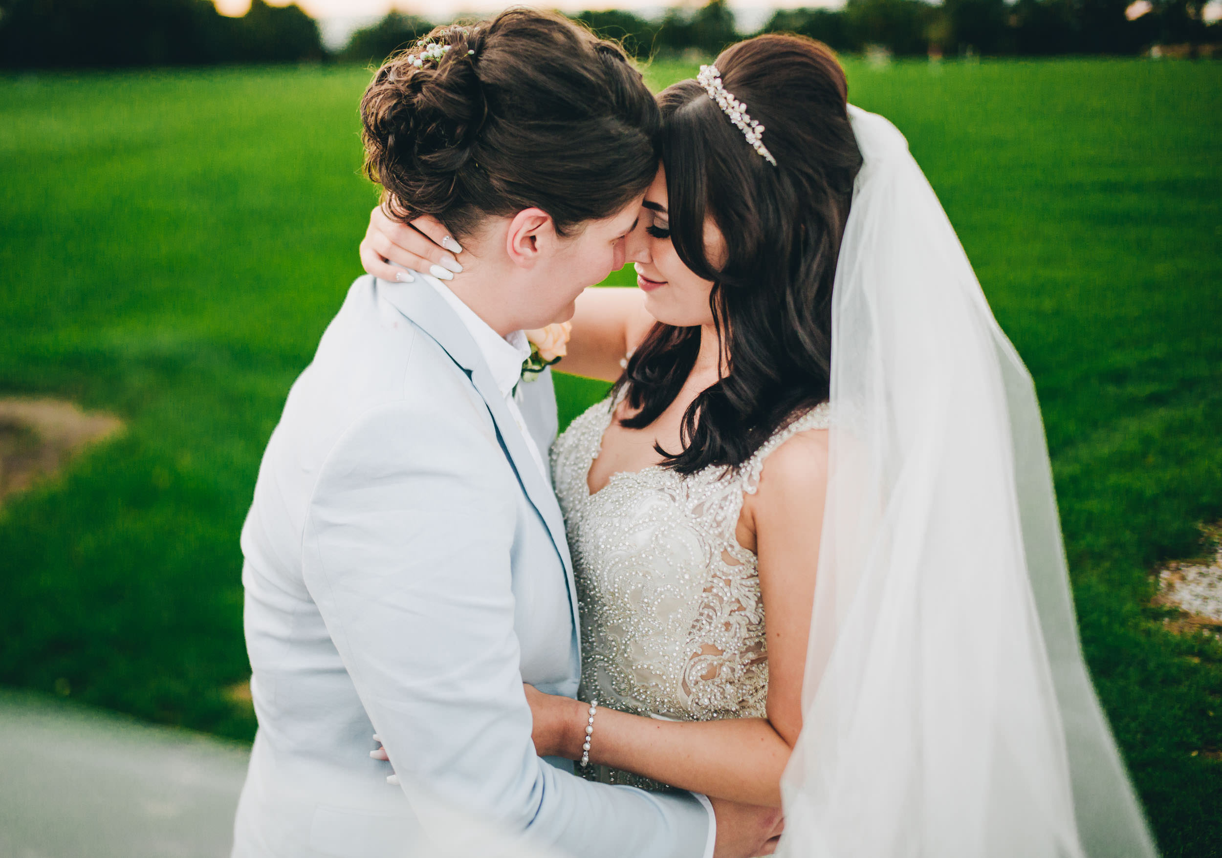 Cheshire wedding photographer - evening portraits