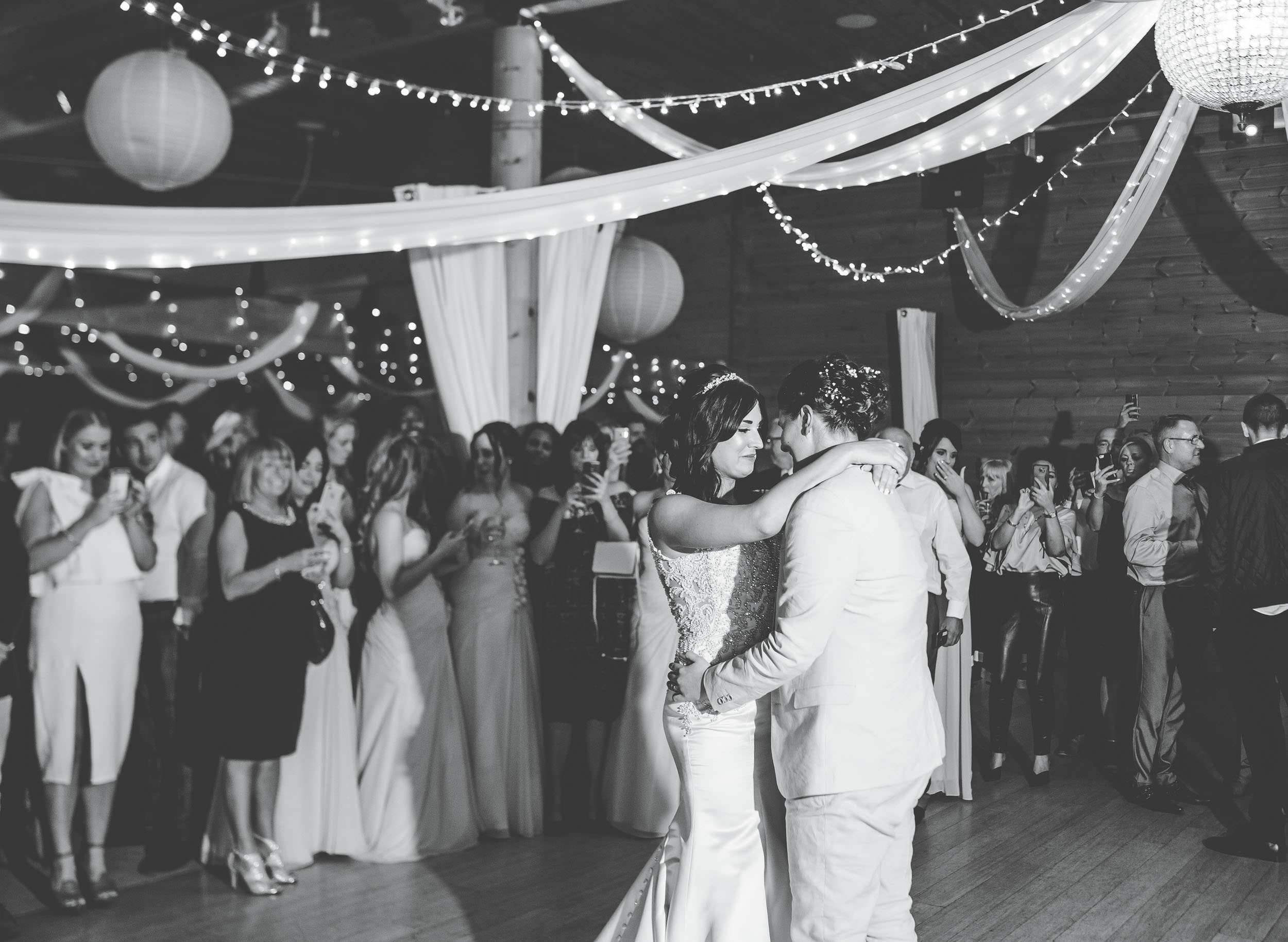 First dance at Styal lodge wedding
