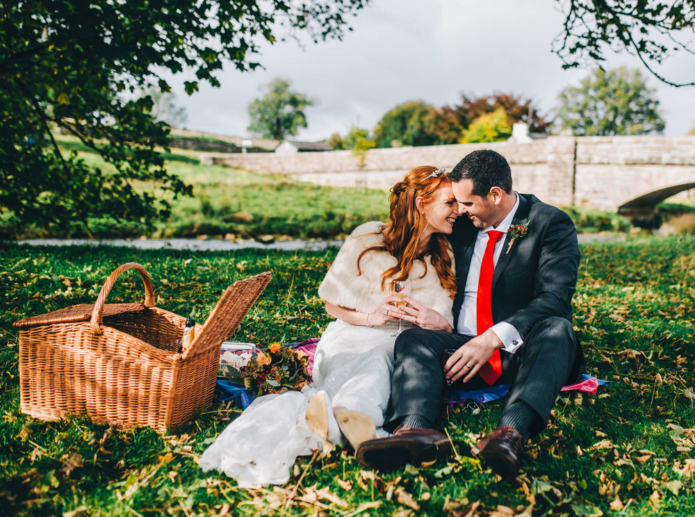 intimate wedding pictures - lake district wedding photographer