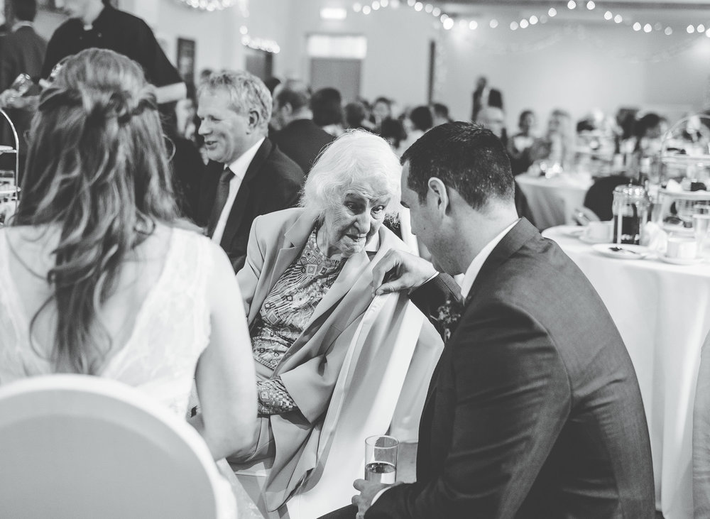 grandma at wedding