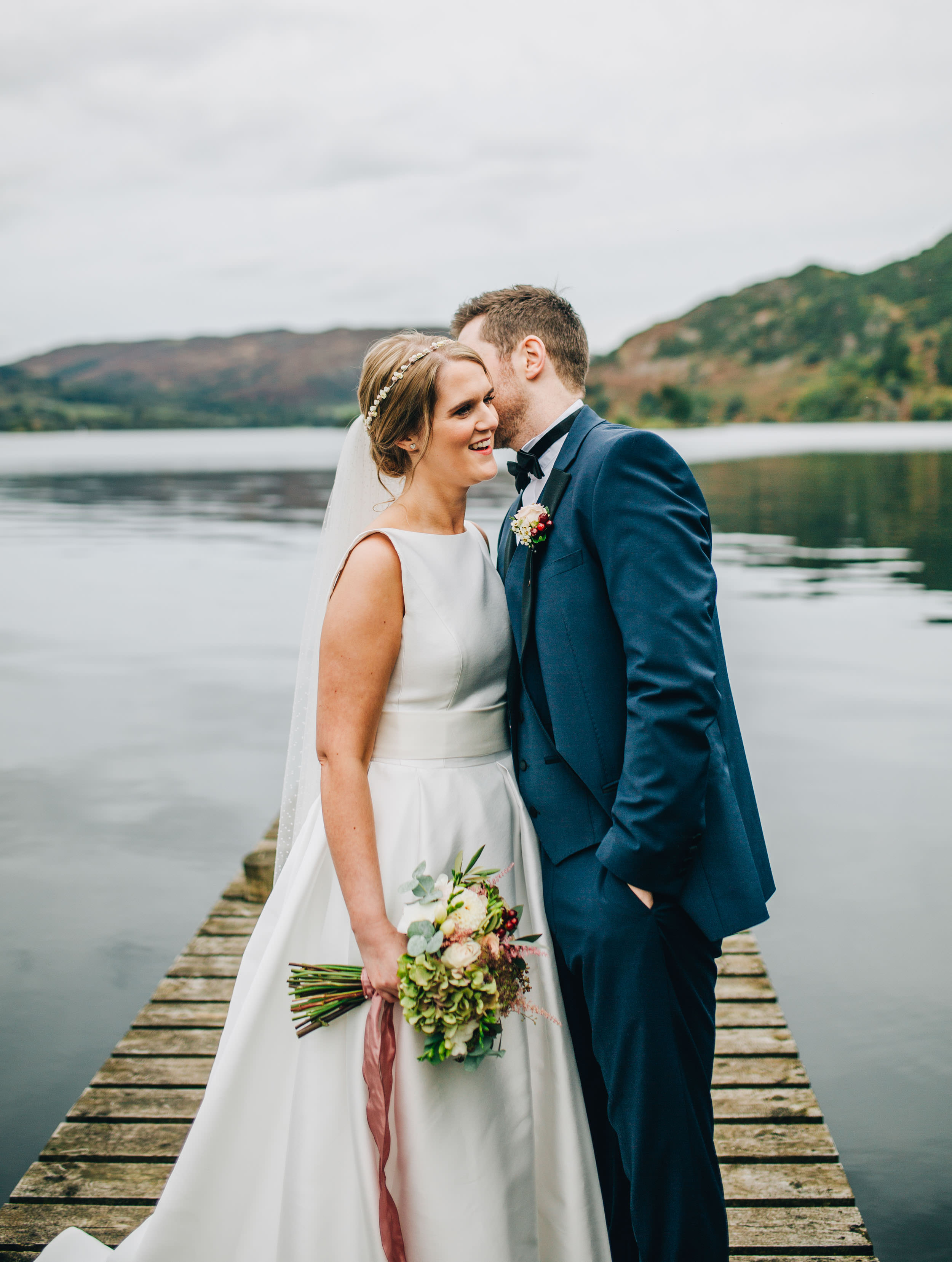 Inn on the Lake wedding pictures - Lake District wedding photography