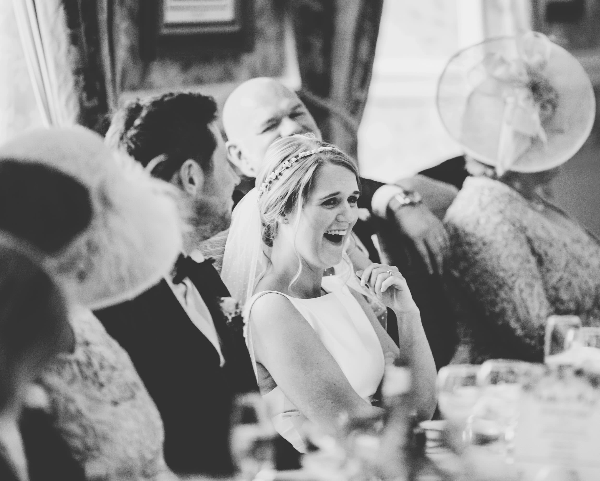 documentary wedding photography in the lakes - speeches