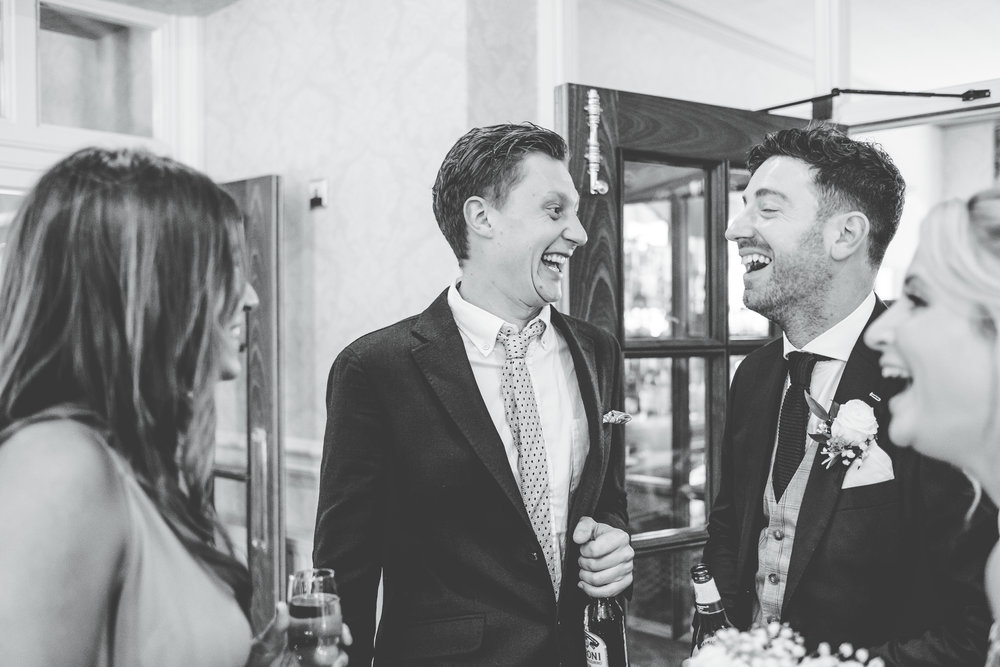 fun documentary images - wedding photography in the lakes