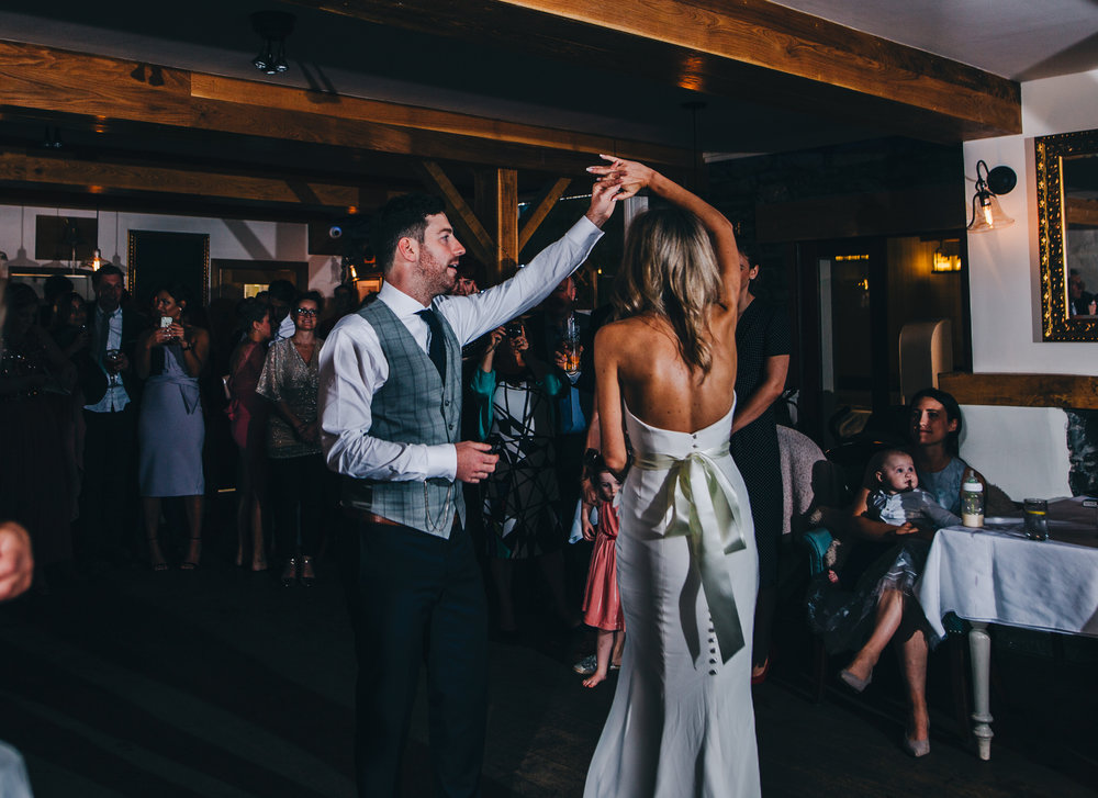 first dance at the inn on the lake